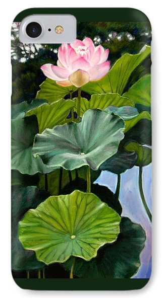 Lotus Rising Phone Case by John Lautermilch