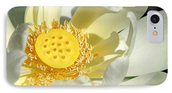 Lotus Up Close Phone Case by Sabrina L Ryan