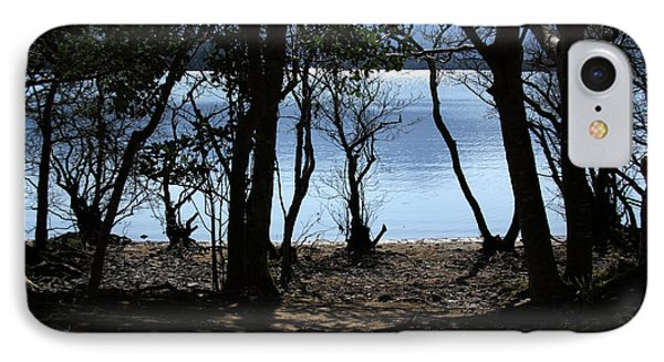 Lough Leane Through The Woods IPhone Case by Aidan Moran