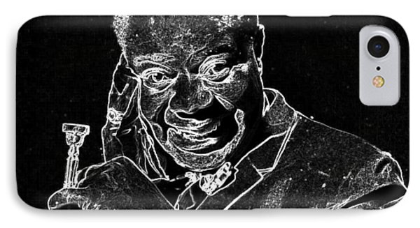 Louis Armstrong IPhone Case by Charles Shoup