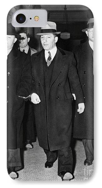 Louis Lepke Buchalter Phone Case by Granger
