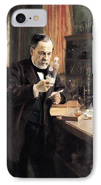 Louis Pasteur IPhone Case by Albert Gustaf Aristides Edelfelt