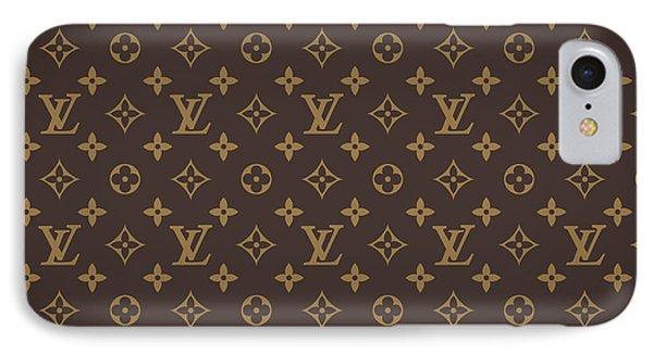 Louis Vuitton Texture IPhone Case by Taylan Apukovska