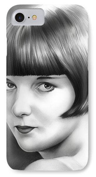 Louise Brooks IPhone Case by Greg Joens