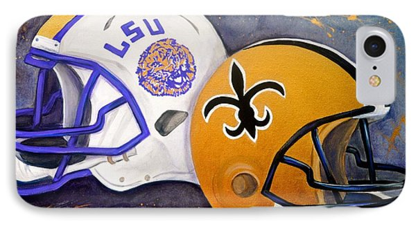 Louisiana Fan IPhone Case