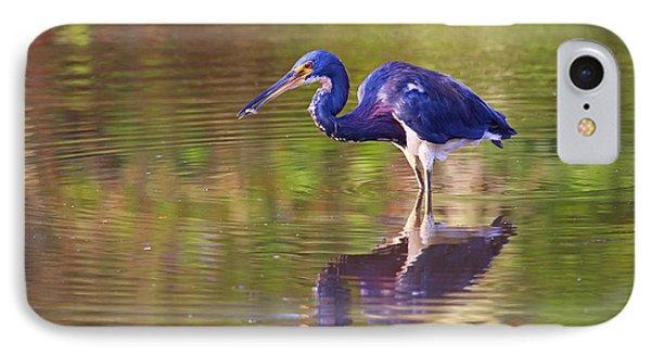 Louisiana Heron IPhone Case by Marty Fancy
