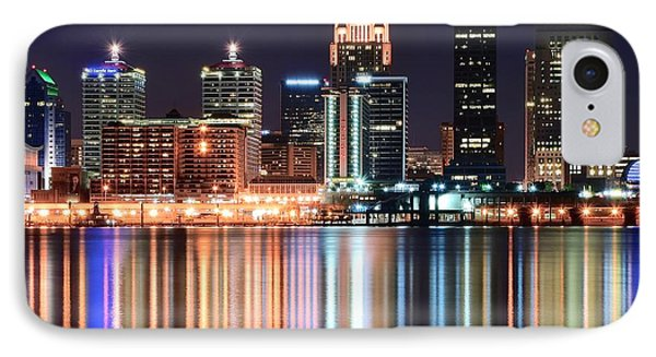 Louisville After Dark IPhone Case by Frozen in Time Fine Art Photography