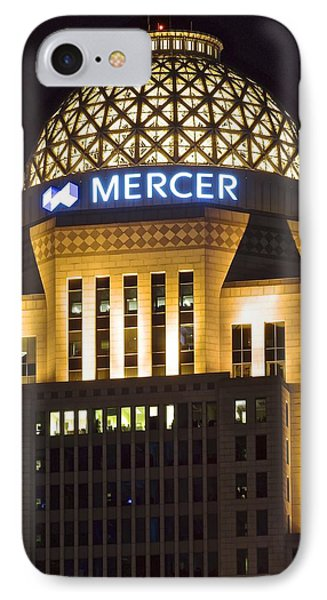 Louisville Mercer Building IPhone Case by Frozen in Time Fine Art Photography
