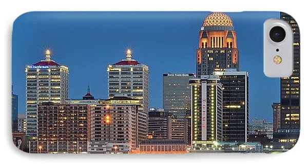 Louisville Panorama Close Up IPhone Case by Frozen in Time Fine Art Photography