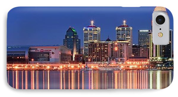 Louisville Panoramic At Blue Hour IPhone Case