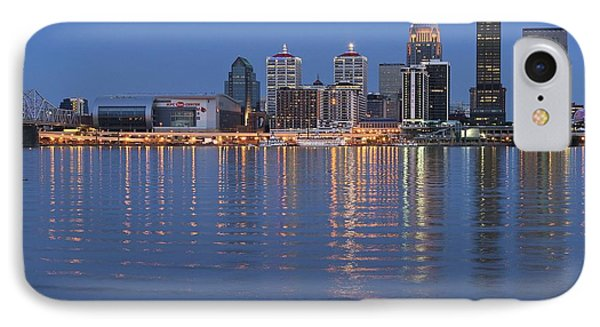 Louisville Reverberates IPhone Case by Frozen in Time Fine Art Photography