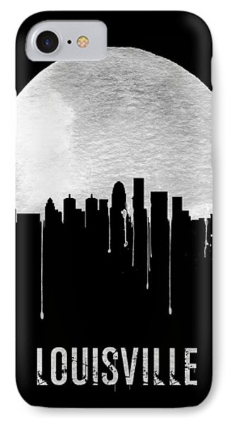 Louisville Skyline Black IPhone Case