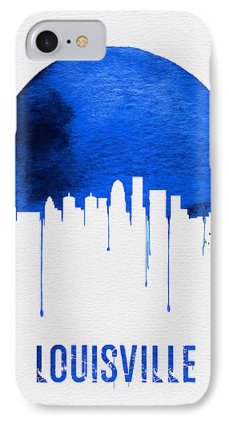 Louisville Skyline Blue IPhone Case