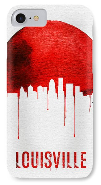 Louisville Skyline Red IPhone Case