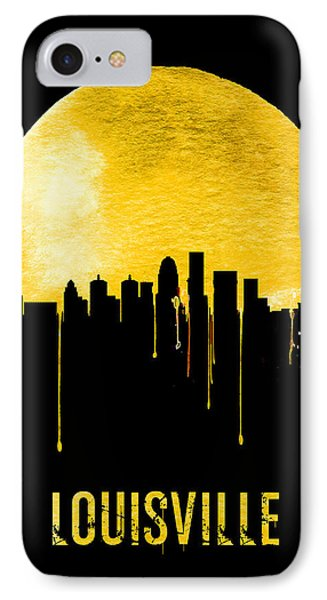 Louisville Skyline Yellow IPhone Case