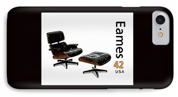 Lounge Chair And Ottoman IPhone Case by Lanjee Chee