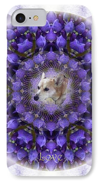 Lounging In The Lupines IPhone Case by Alicia Kent