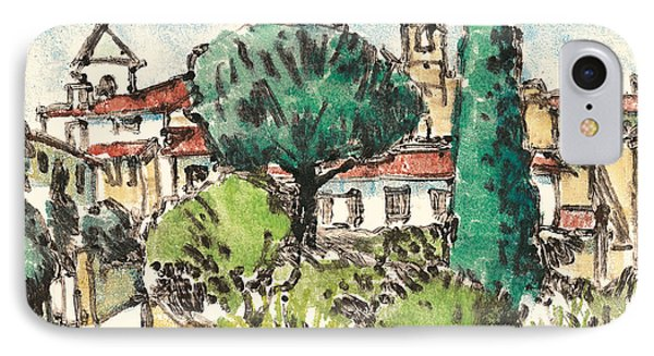 Lourmarin Provence IPhone Case by Martin Stankewitz