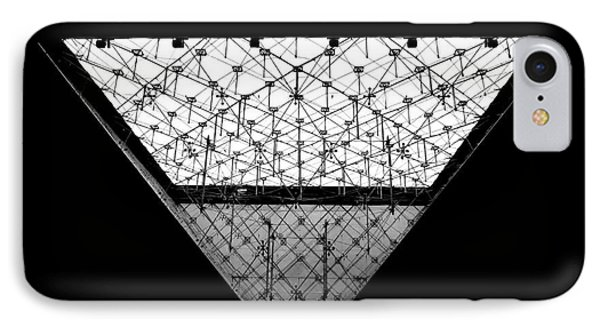 Lourve Pyramid IPhone Case by Amar Sheow