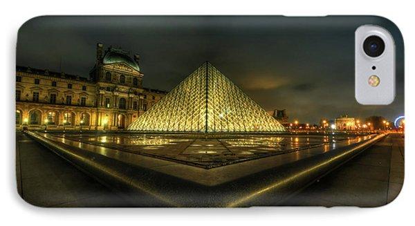 Louvre 1.0 IPhone Case by Yhun Suarez