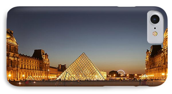 IPhone Case featuring the photograph Louvre At Night 2 by Andrew Fare