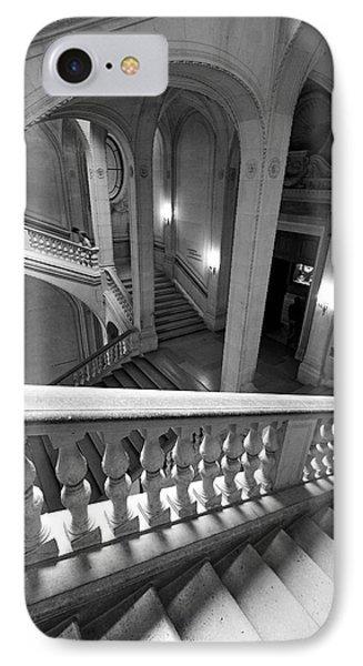 Louvre Museum Architecture Paris IPhone Case by Pierre Leclerc Photography