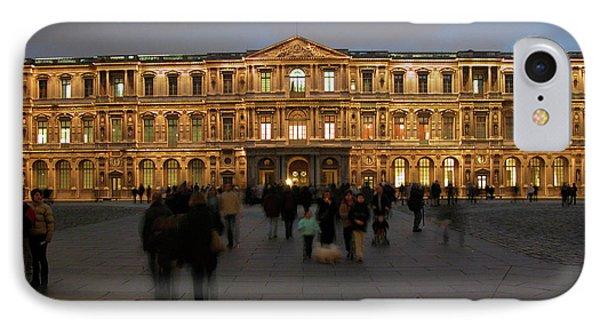 IPhone Case featuring the photograph Louvre Palace, Cour Carree by Mark Czerniec