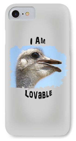 Lovable IPhone Case by Judi Saunders