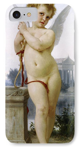 Love, 1891 IPhone Case by William-Adolphe Bouguereau