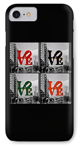 IPhone Case featuring the photograph Love 4 All by DJ Florek