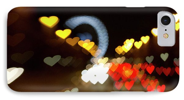 IPhone Case featuring the photograph Love Along The Champs-elysees by Melanie Alexandra Price