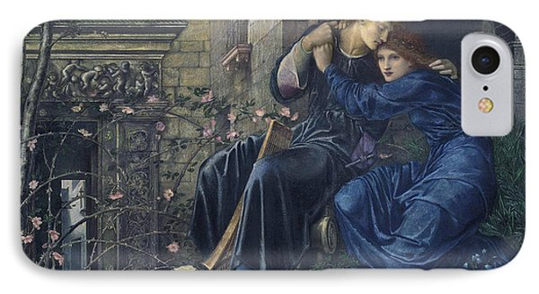 Love Among The Ruins IPhone Case by Edward Burne-Jones