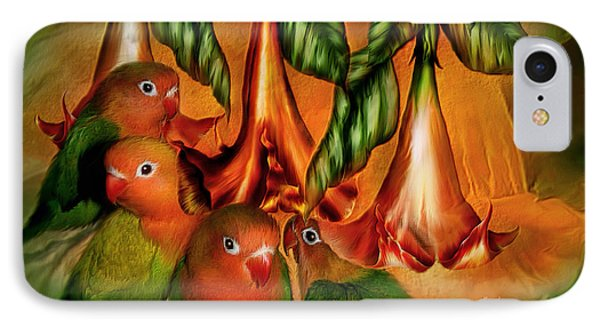 Love Among The Trumpets IPhone 7 Case by Carol Cavalaris