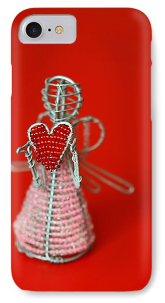 Love Angel Phone Case by Evelina Kremsdorf