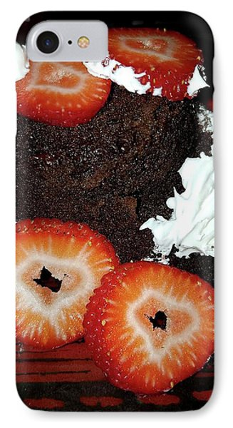 Love Berry Much IPhone Case by Kelly Reber