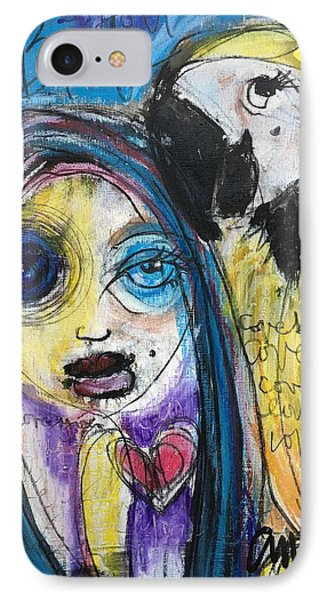 Love Birds Phone Case by Laurie Maves ART