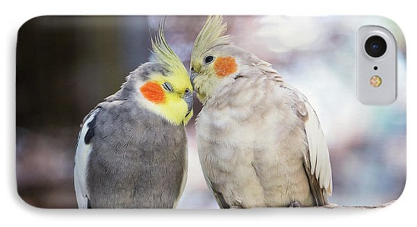 Love Birds IPhone Case by Stephanie Hayes