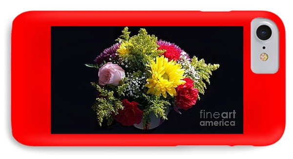 Love Bouquet IPhone Case by Becky Lupe