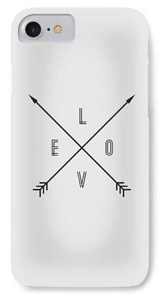Love Compass IPhone Case by Taylan Apukovska