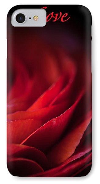 Love IPhone Case by Elena E Giorgi