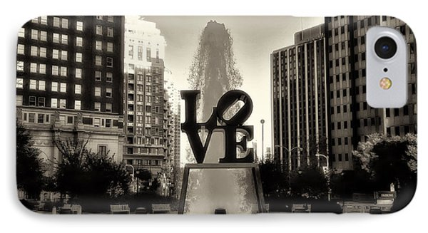 Love In Sepia Phone Case by Bill Cannon