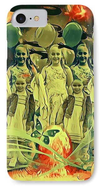 Love In The Age Of War IPhone Case by Vennie Kocsis