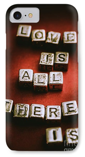 Love Is All There Is IPhone Case by Jorgo Photography - Wall Art Gallery
