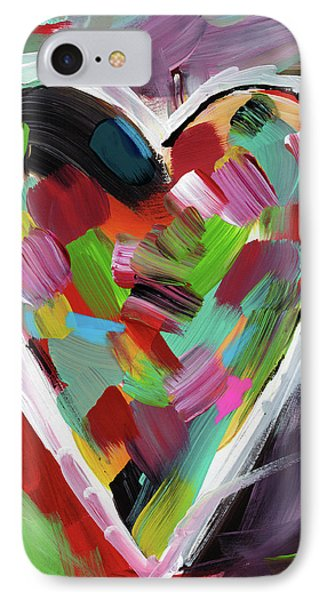 Love Is Colorful 3- Art By Linda Woods IPhone Case
