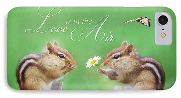 Love Is In The Air Phone Case by Lori Deiter