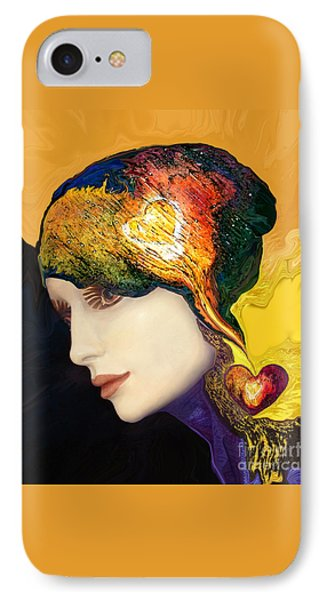 Love Hat IPhone Case by Art by Ela