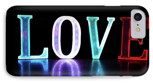 Love Lights IPhone Case by Martin Newman