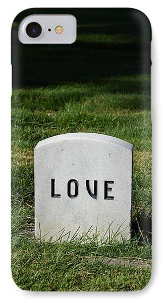 Love Monument IPhone Case