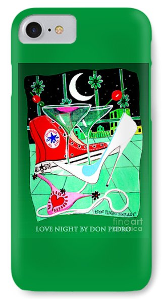 IPhone Case featuring the painting Love Night by Don Pedro De Gracia