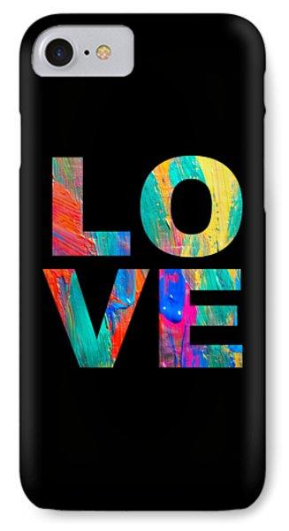 Love - Paint IPhone Case